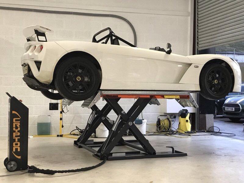 Vehicle Lifts Midrise Scissor Lift