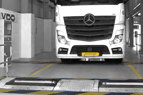 HGV Brake Testing Equipment by Crypton / VDO