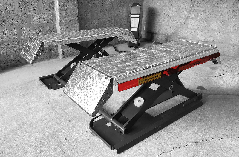 midrise scissor lift by crypton