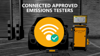 Connected Exhaust Emissions Tester